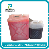 pu resin two components adheisve with red color in good quality made in china