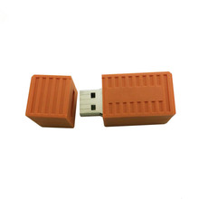 free samples custom logo 2gb 4gb 8gb 16gb 3D Cartoon soft pvc container usb flash drive