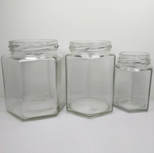 Diffierent caps hermetic glass storage jars for wholesale