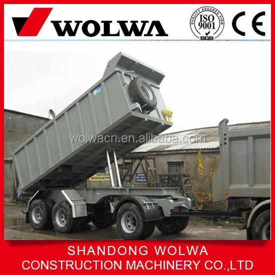 A-frame draw bar trailer 45t dolly trailers for sale in china