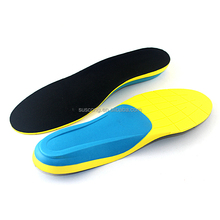 Factory wholesale price eva orthotic sport shock absorbing eva foam insole health for shoes