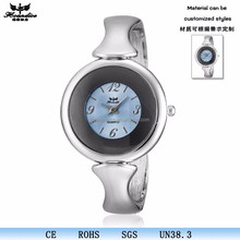 OEM Sliver Stainless Steel Interchange Band quartz Ladies Watch