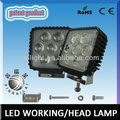 Epistar super bright waterproof IP68 RGD1006 35w led work lamp for suv
