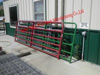 high strength galvanized metal fence cattle panel fence