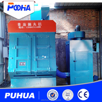 tracked type shot blasting machine electric rust protection device