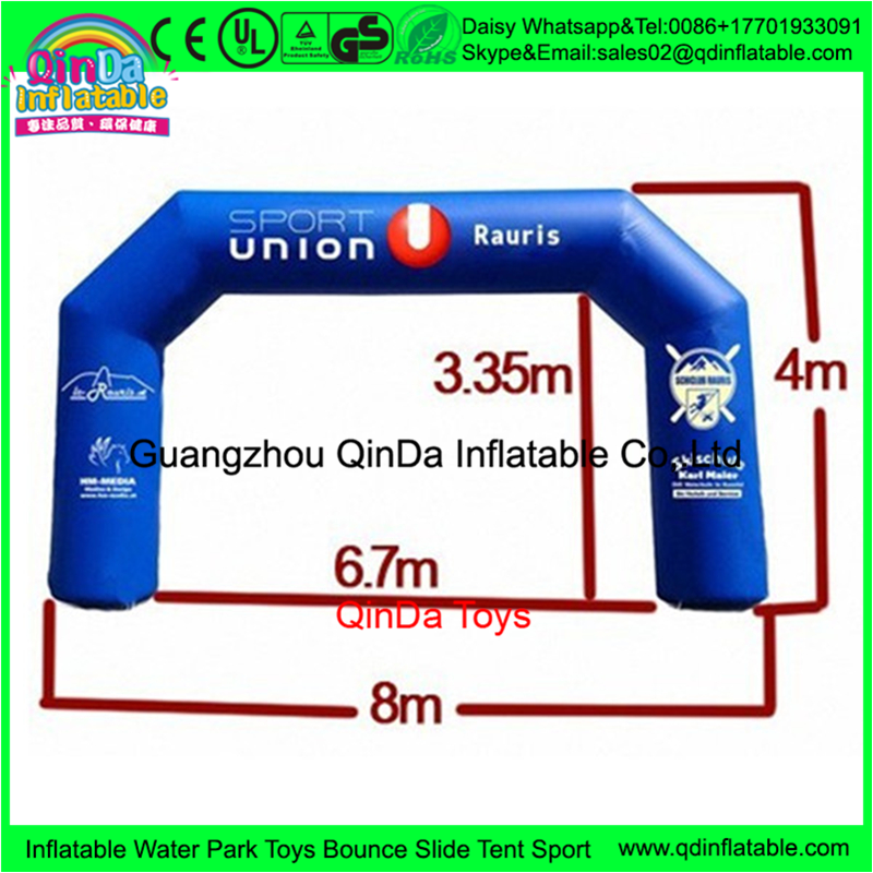 Popular inflatable race arch ,inflatable advertising arch for advertising