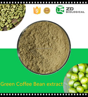 Organic green coffee bean extract powder diet