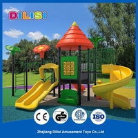 2016 children outdoor used playground big slides for sale
