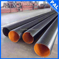 HDPE wear resistance 3 inch drainage pipe with CE