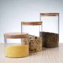 High Borosilicate <strong>glass</strong> storage <strong>jar</strong> Cookie Candy Spice Tea Cereal Storage <strong>Glass</strong> <strong>Jar</strong>