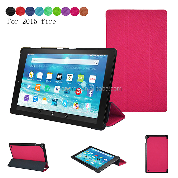 Pu Leather Case , Leather Cover For Amazon Kindle Fire 7 Case 2015 Mobile Case