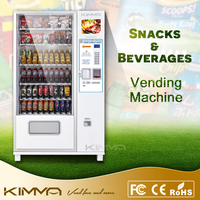 Snacks and Beverages Combo Vending Machine, KVM-G654