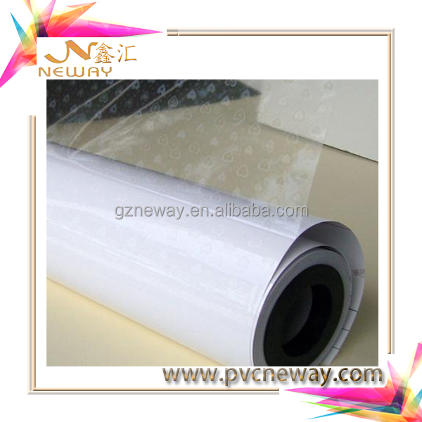 pvc materials 45mic lamination film semi glossy laminating film roll