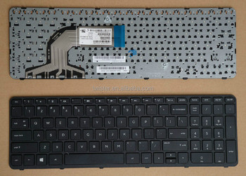 Sell 100% new US layout laptop keyboard for HP pavilion 15 with frame