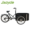 New model family cargo trike with allumnium alloy box for sale