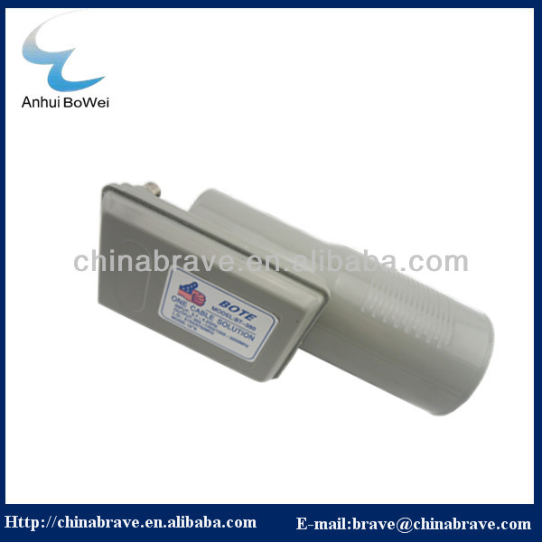 latest c band dual polarization lnbf c band lnb one cable solution 5150/5750mhz