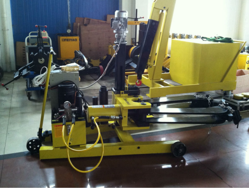 Deep Gear Puller : Automatic vehicle movable hydraulic gear puller buy