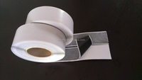 single sided non-woven cloth adhesive butyl tape B-NW15 1.5mm*50mm*12m