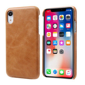 2019 Hot Products Cell Accessories for Apple Cover Real Cowhide Leather Mobile Phone Case For iphone X XS XR