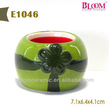 Hot sale fruit design wholesale ceramic egg cups