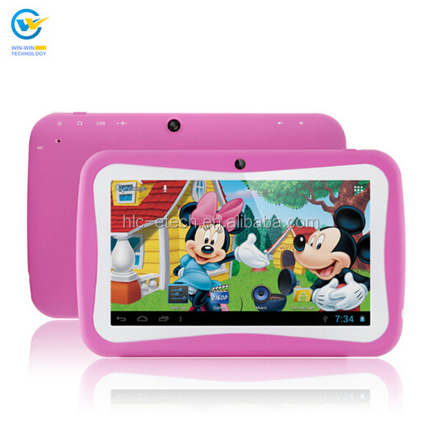 7 inch Kids Tablet PC Android5.1 Children Good For Promotion And Gift Given kid tablet pc children education learning <strong>computers</strong>