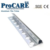 L shape aluminum tile edge protection trim
