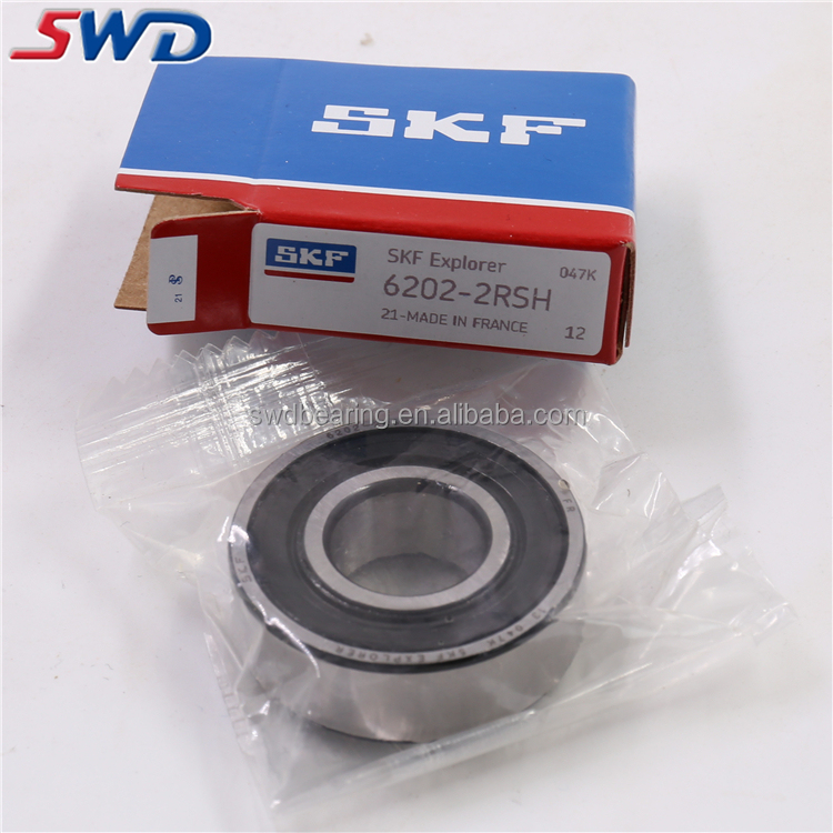 Factory Price SKF 6202 2RSH Deep Groove Ball Bearing Importer