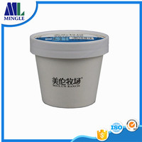 7oz 200ML Custom Printed Disposable Ice Cream Paper Cups With paper lids