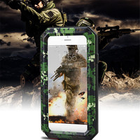 Newest Design Fashion Decepticons Hybird 3in1 Gorilla Glass Metal Waterproof Phone Case for iPhone 8/8+, for Apple iPhone X