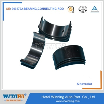 auto spare parts with original quality 9002792 connecting rod bearing for chevrolet car model