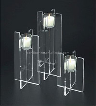 china supplier acrylic candelabras/acrylic candlestick