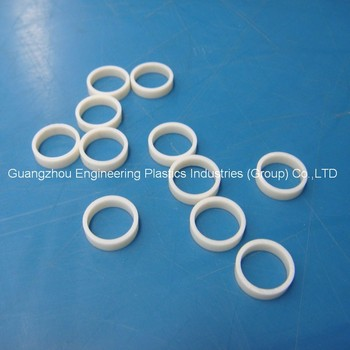 small natrual nylon PA66 gf30 plastic injection parts / o ring with ...
