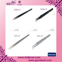 Straight&Curved Tweezers for Eyelash Extension