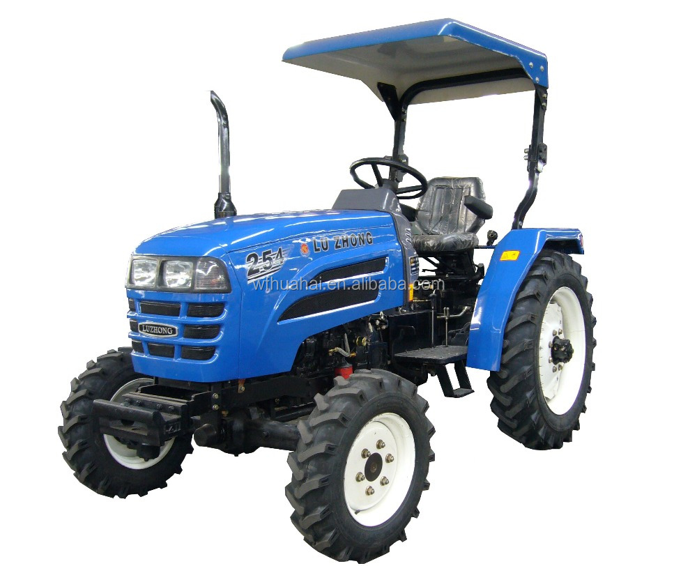 Cheap Compact new LZ254 25HP 4WD mini farm tractor for sale