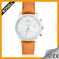 OEM High quality Stainless Steel Chronograph Wrist Watch Accept Sample Order