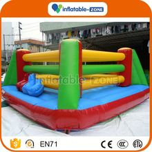 China factory inflatable fighting pitch kids inflatble boxing rings for sale/inflatable fighting ring boxing