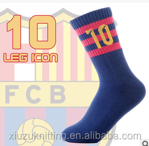 custom logo men sports crew cushion sole basketball socks