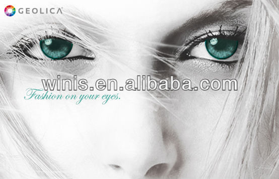 GEO GEOLICA LADY cosmetic color contact lenses US FDA approved luxury contacts