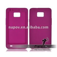 silicon product - silicon skin for Korea Samsung Galaxy S2 I9100(paypal)