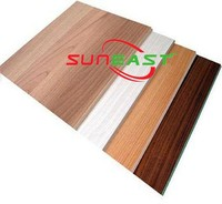 Linyi Suneast melamine MDF sheet prices