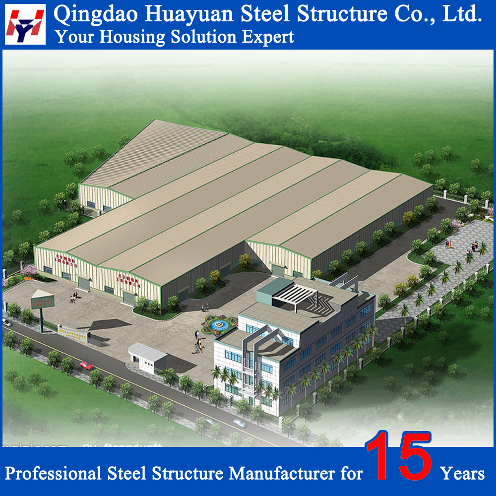 Hot prefab structural steel portable warehouse for sale