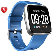 Warmwave Big screen <strong>smart</strong> <strong>watch</strong> Y7 smartwatch with heart rate blood pressure fitness tracker <strong>smart</strong> wristband 2019
