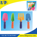 New design colorful mini sand shovel toy set