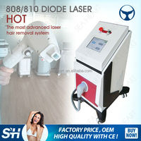 painless 808 diode laser hair removal with 10 million shots