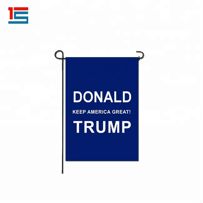 Donald Trump Welcome Garden Flag Outdoor Decorative Weather <strong>Resistant</strong> Polyester Yard Flag