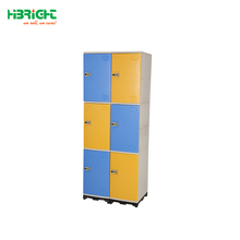 HOT ABS plastic personal effects lockers