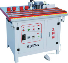 Curve and straight PVC plastic manual edge banding machine