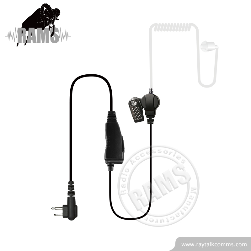 Acoustic Tube Clear In-Ear Walkie Talkie Earpiece Police Radio Eads TPH700 Headset