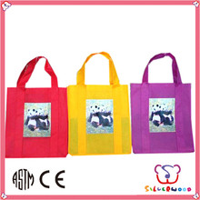 ISO 9001 Factory new design foldable craft non woven shopping bag