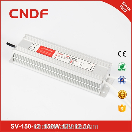 CNDF input voltage 176-264VAC and output power 150w 12vdc <strong>12</strong>.5amp driver
